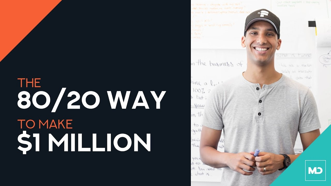 80/20 way to increase sales to $1 million