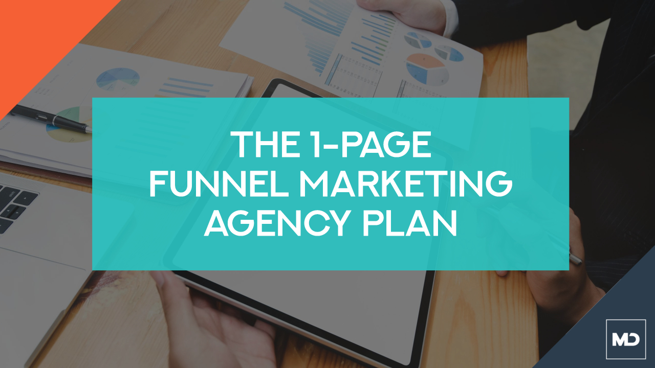 1-Page Funnel Marketing Agency Plan